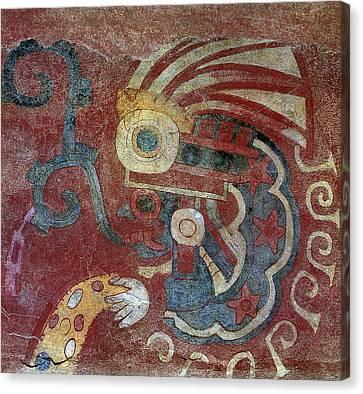 Mexico Teotihuacan Fresco Canvas Print