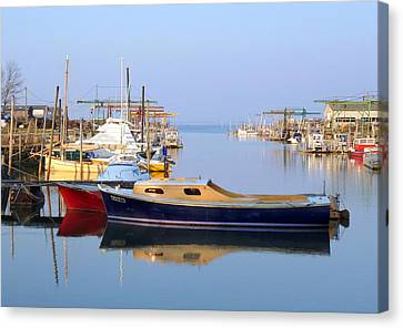 Meyran Oyster Port Canvas Print by Bishopston Fine Art
