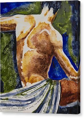 Mezzotints Canvas Print by Brenda Clews
