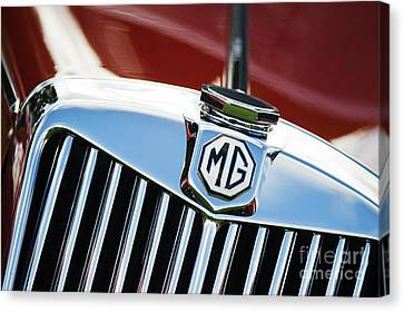 Mg Tf 1500 Vintage Car  Canvas Print by Tim Gainey