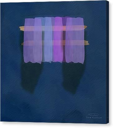 Mgl - Abstract Soft Blocks 01 I Canvas Print by Joost Hogervorst