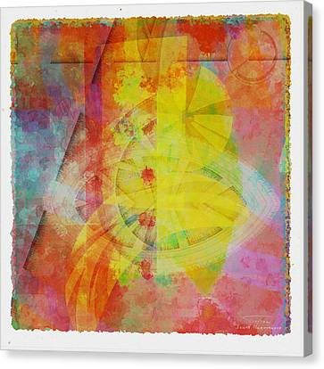Mgl - Abstract Soft Smooth 02 Canvas Print by Joost Hogervorst