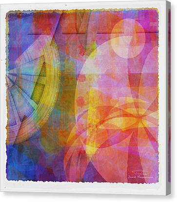 Mgl - Abstract Soft Smooth 04 Canvas Print by Joost Hogervorst