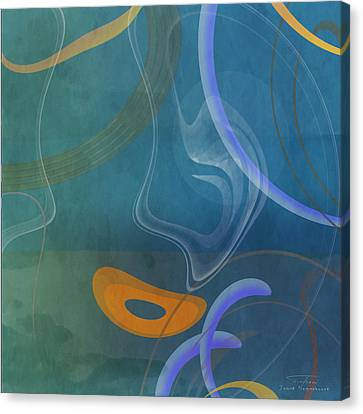 Mgl - Abstract Twirl 04 Canvas Print by Joost Hogervorst