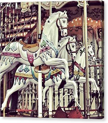 Iphonesia Canvas Print - #mgmarts #horse #bestogram #instahub by Marianna Mills