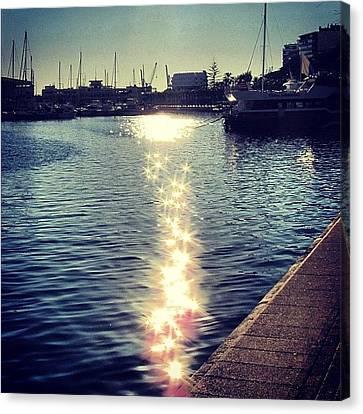 Iphonesia Canvas Print - #mgmarts #spain #alicante #sea #seaside by Marianna Mills