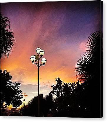 Light Canvas Print - #mgmarts #spain #sea #seaside by Marianna Mills