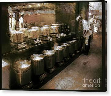 Mi Kitchen Canvas Print by Jack Gannon