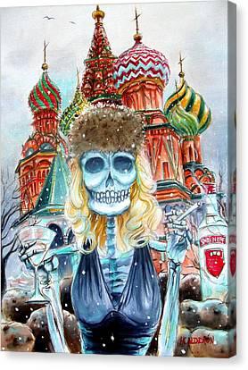 Mi Vodka Canvas Print by Heather Calderon