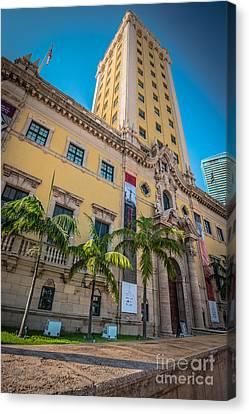 Miami Freedom Tower 1 - Miami - Florida Canvas Print by Ian Monk