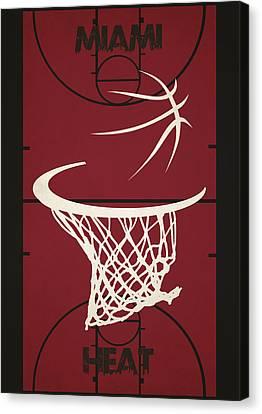 Miami Heat Court Canvas Print