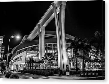 Miami Marlins Park Stadium Canvas Print