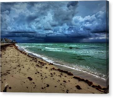 Miami - South Beach 007 Canvas Print by Lance Vaughn
