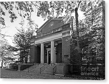 Miami University Alumni Hall Canvas Print by University Icons
