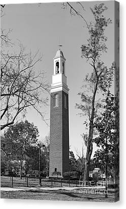Miami University Beta Bell Tower Canvas Print by University Icons