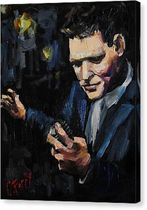 Michael Buble Canvas Print by Carole Foret