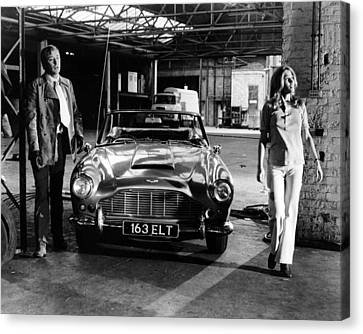 Michael Caine In The Italian Job  Canvas Print by Silver Screen