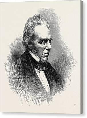 Michael Faraday Canvas Print by English School