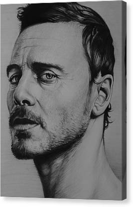 Michael Fassbender Canvas Print by Steve Hunter