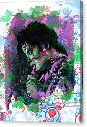 Michael Jackson 16 Canvas Print by Bekim Art