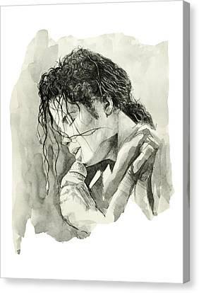 Michael Jackson 3 Canvas Print by Bekim Art