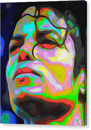 Michael Jackson Canvas Print by  Fli Art
