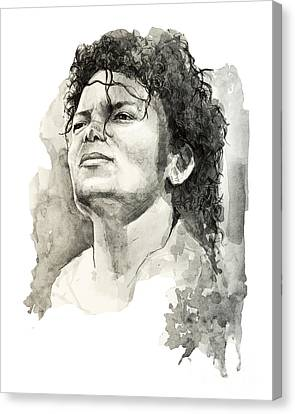 Jackson 5 Canvas Print - Michael Jackson by Bekim Art