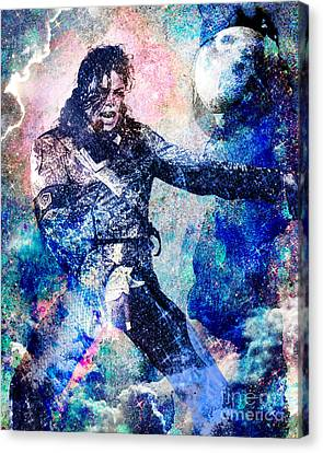 Mj Canvas Print - Michael Jackson Original Painting  by Ryan Rock Artist
