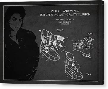 Michael Jackson Patent Canvas Print