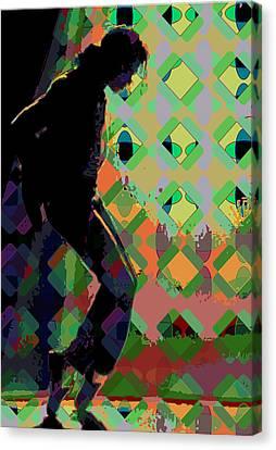 Michael Jackson Canvas Print by Scott Davis