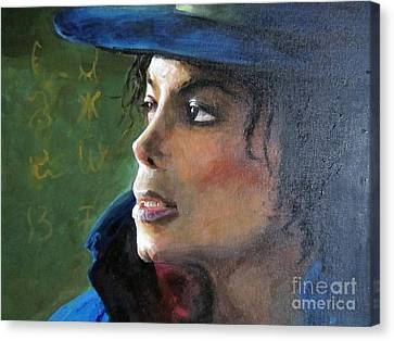 Michael Joseph Jackson Canvas Print