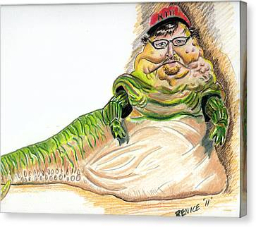 Michael Moore Canvas Print