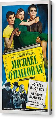 Michael Ohalloran, Us Poster, Top Canvas Print by Everett