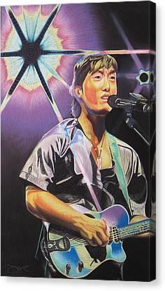 Micheal Kang Canvas Print by Joshua Morton