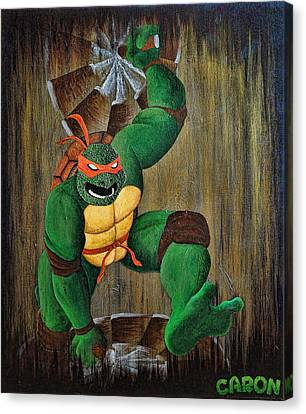 Michelangelo Canvas Print by Mike Caron