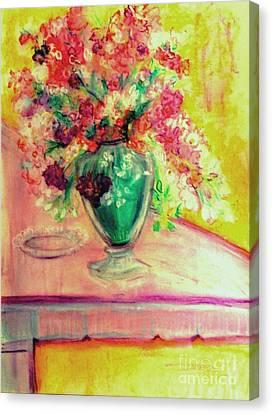 Michelangelo's Vase Canvas Print by Helena Bebirian