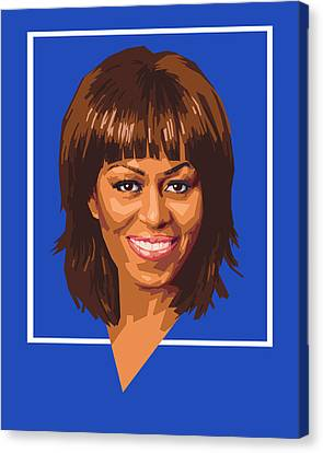 Michelle Canvas Print by Douglas Simonson