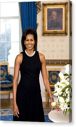 Michelle Obama Canvas Print