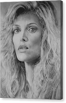 Michelle Pfeiffer Canvas Print by Damir Kulusic