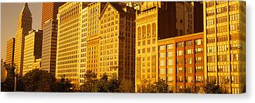 Michigan Avenue Architecture, Chicago Canvas Print by Panoramic Images