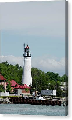 Michigan, Port Huron, St Canvas Print by Cindy Miller Hopkins