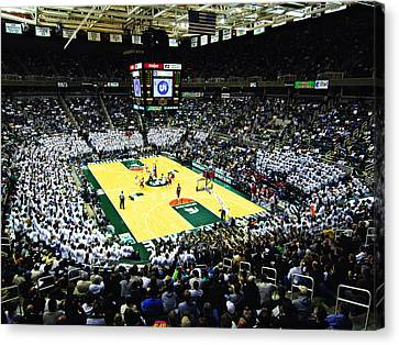 Michigan State Spartans Jack Breslin Student Events Center Canvas Print by Replay Photos