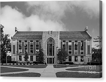 Big East Conference Canvas Print - Michigan State University North Kedzie Hall by University Icons
