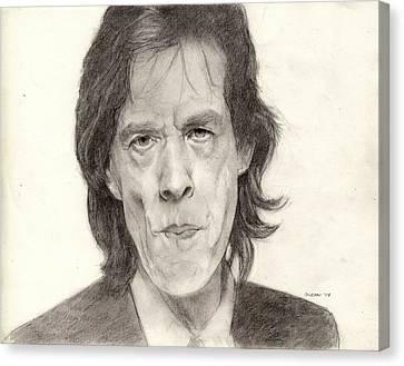 Mick Jagger 2 Canvas Print by Glenn Daniels