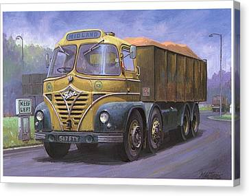 Mickey Mouse Foden. Canvas Print by Mike  Jeffries