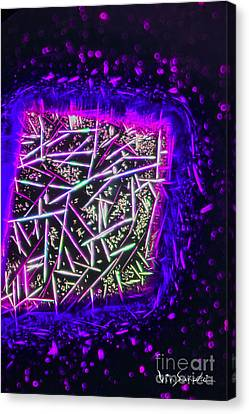 Micro Art Coffee Solution 2 Canvas Print by Vin Kitayama