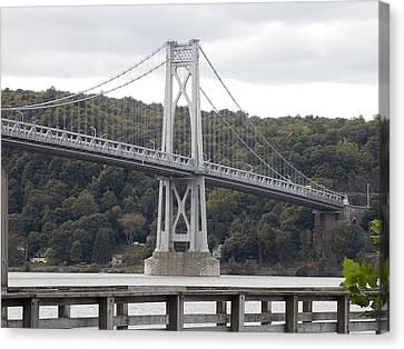 Mid Hudson Bridge Canvas Print