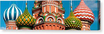Mid Section View Of A Cathedral, St Canvas Print by Panoramic Images