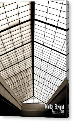 Midday Skylight Canvas Print by Jeff Bell