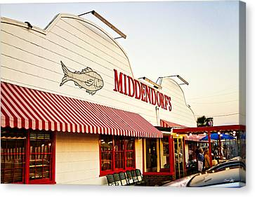 Middendorf's Canvas Print by Scott Pellegrin